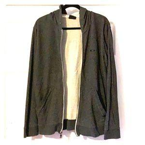 Men's Oakley zip-up Sweatshirt